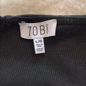 Tobi Other - Black body suit